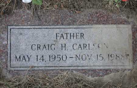 CARLSON, CRAIG HOLMES - Douglas County, Nebraska | CRAIG HOLMES CARLSON - Nebraska Gravestone Photos