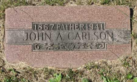 CARLSON, JOHN AUGUST - Douglas County, Nebraska | JOHN AUGUST CARLSON - Nebraska Gravestone Photos