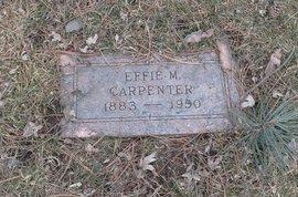 CARPENTER, EFFIE M. - Douglas County, Nebraska | EFFIE M. CARPENTER - Nebraska Gravestone Photos