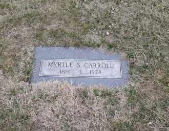 CARROLL, MYRTLE S. - Douglas County, Nebraska | MYRTLE S. CARROLL - Nebraska Gravestone Photos
