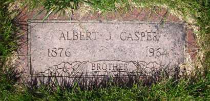 CASPER, ALBERT J. - Douglas County, Nebraska | ALBERT J. CASPER - Nebraska Gravestone Photos