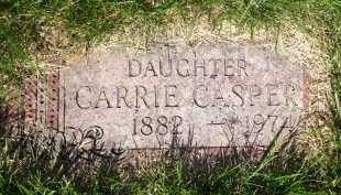 CASPER, CARRIE - Douglas County, Nebraska | CARRIE CASPER - Nebraska Gravestone Photos