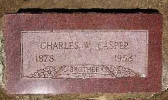 CASPER, CHARLES W. - Douglas County, Nebraska | CHARLES W. CASPER - Nebraska Gravestone Photos