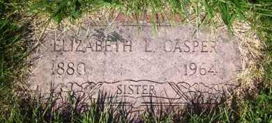 CASPER, ELIZABETH L. - Douglas County, Nebraska   ELIZABETH L. CASPER - Nebraska Gravestone Photos