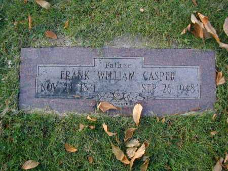 CASPER, FRANK WILLIAM - Douglas County, Nebraska | FRANK WILLIAM CASPER - Nebraska Gravestone Photos