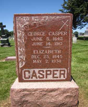 CASPER, GEORGE - Douglas County, Nebraska | GEORGE CASPER - Nebraska Gravestone Photos