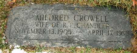CHANDLER, MILDRED - Douglas County, Nebraska | MILDRED CHANDLER - Nebraska Gravestone Photos