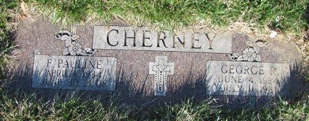 CHERNEY, FRANCES PAULINE - Douglas County, Nebraska | FRANCES PAULINE CHERNEY - Nebraska Gravestone Photos