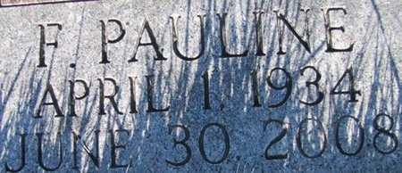 CHERNEY, FRANCES PAULINE (CLOSE UP) - Douglas County, Nebraska | FRANCES PAULINE (CLOSE UP) CHERNEY - Nebraska Gravestone Photos