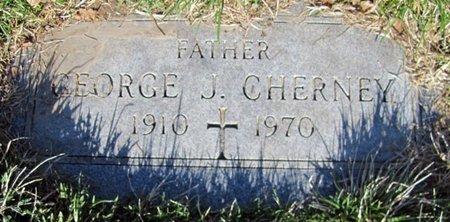 CHERNEY, GEORGE J. - Douglas County, Nebraska | GEORGE J. CHERNEY - Nebraska Gravestone Photos