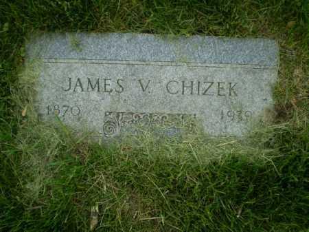 CHIZEK, JAMES V - Douglas County, Nebraska | JAMES V CHIZEK - Nebraska Gravestone Photos