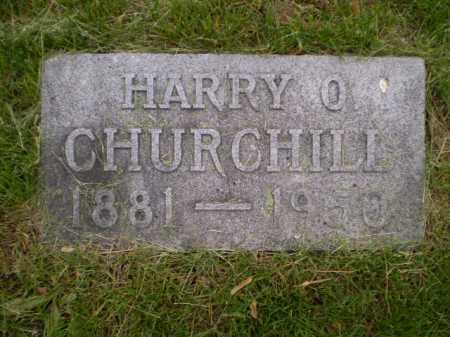 CHURCHILL, HARRY O - Douglas County, Nebraska   HARRY O CHURCHILL - Nebraska Gravestone Photos