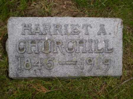 CHURCHILL, HARRIET ANN - Douglas County, Nebraska | HARRIET ANN CHURCHILL - Nebraska Gravestone Photos