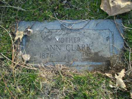 CLARK, ANN - Douglas County, Nebraska | ANN CLARK - Nebraska Gravestone Photos