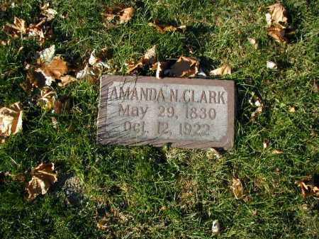 CLARK, AMANDA N. - Douglas County, Nebraska | AMANDA N. CLARK - Nebraska Gravestone Photos