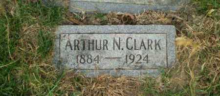 CLARK, ARTHUR N - Douglas County, Nebraska | ARTHUR N CLARK - Nebraska Gravestone Photos