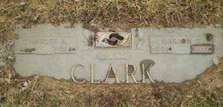 CLARK, CHARLES A - Douglas County, Nebraska | CHARLES A CLARK - Nebraska Gravestone Photos