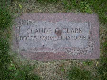 CLARK, CLAUDE C - Douglas County, Nebraska | CLAUDE C CLARK - Nebraska Gravestone Photos