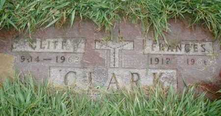 CLARK, CLIFF - Douglas County, Nebraska | CLIFF CLARK - Nebraska Gravestone Photos