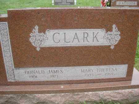 CLARK, DONALD JAMES - Douglas County, Nebraska | DONALD JAMES CLARK - Nebraska Gravestone Photos