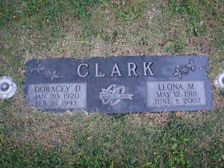 CLARK, LEONA M - Douglas County, Nebraska | LEONA M CLARK - Nebraska Gravestone Photos