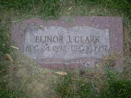 CLARK, ELINOR J - Douglas County, Nebraska   ELINOR J CLARK - Nebraska Gravestone Photos