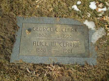 CLARK, GEORGE C. - Douglas County, Nebraska | GEORGE C. CLARK - Nebraska Gravestone Photos