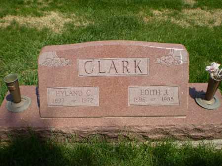 CLARK, HYLAND C - Douglas County, Nebraska   HYLAND C CLARK - Nebraska Gravestone Photos