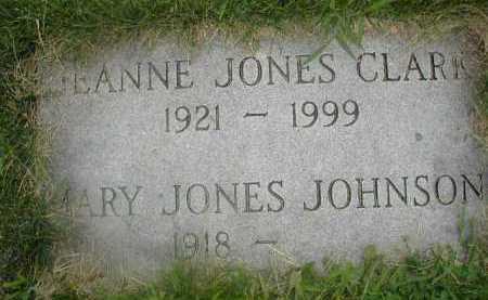 CLARK, JEANNE - Douglas County, Nebraska | JEANNE CLARK - Nebraska Gravestone Photos