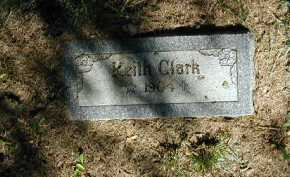 CLARK, KEITH - Douglas County, Nebraska | KEITH CLARK - Nebraska Gravestone Photos