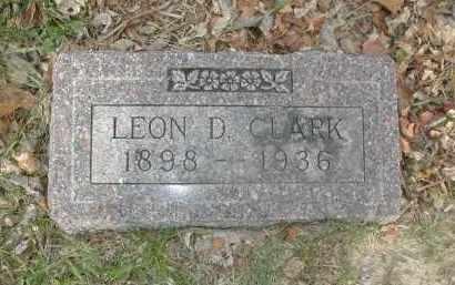 CLARK, LEON D - Douglas County, Nebraska | LEON D CLARK - Nebraska Gravestone Photos