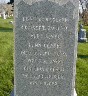 CLARK, EDNA - Douglas County, Nebraska | EDNA CLARK - Nebraska Gravestone Photos