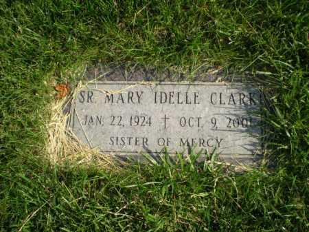 CLARK, MARY IDELLE - Douglas County, Nebraska | MARY IDELLE CLARK - Nebraska Gravestone Photos