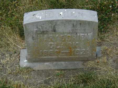 CLARK, MARY - Douglas County, Nebraska | MARY CLARK - Nebraska Gravestone Photos