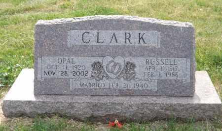 CLARK, RUSSELL - Douglas County, Nebraska | RUSSELL CLARK - Nebraska Gravestone Photos