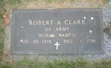 CLARK, ROBERT A. - Douglas County, Nebraska | ROBERT A. CLARK - Nebraska Gravestone Photos