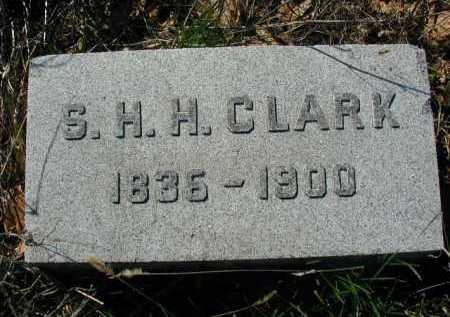 CLARK, S. H. H - Douglas County, Nebraska | S. H. H CLARK - Nebraska Gravestone Photos