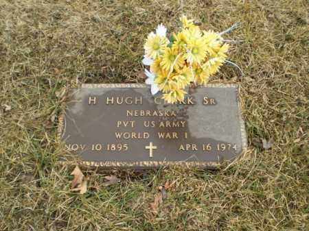 CLARK, SR, H HUGH - Douglas County, Nebraska   H HUGH CLARK, SR - Nebraska Gravestone Photos