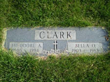 CLARK, BELLA O - Douglas County, Nebraska | BELLA O CLARK - Nebraska Gravestone Photos