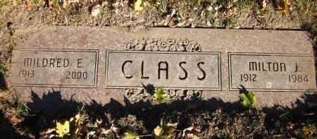 CLASS, MILTON J. - Douglas County, Nebraska   MILTON J. CLASS - Nebraska Gravestone Photos