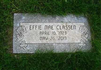 CLASSEN, EFFIE MAE - Douglas County, Nebraska | EFFIE MAE CLASSEN - Nebraska Gravestone Photos