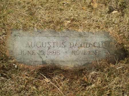 CLOYD, AGUSTUS DAVID - Douglas County, Nebraska | AGUSTUS DAVID CLOYD - Nebraska Gravestone Photos