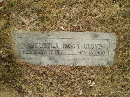 CLOYD, AUGUSTUS DAVIS - Douglas County, Nebraska | AUGUSTUS DAVIS CLOYD - Nebraska Gravestone Photos