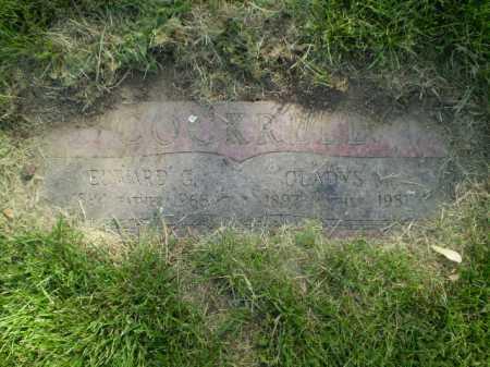 COCKRELL, EDWARD G - Douglas County, Nebraska | EDWARD G COCKRELL - Nebraska Gravestone Photos