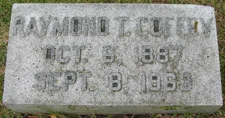 COFFEY, RAYMOND T. - Douglas County, Nebraska | RAYMOND T. COFFEY - Nebraska Gravestone Photos