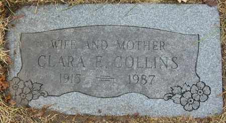 COLLINS, CLARA E. - Douglas County, Nebraska | CLARA E. COLLINS - Nebraska Gravestone Photos