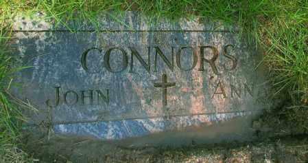 CONNORS, ANNA - Douglas County, Nebraska | ANNA CONNORS - Nebraska Gravestone Photos