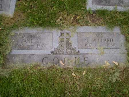 COOKE, JANE C - Douglas County, Nebraska | JANE C COOKE - Nebraska Gravestone Photos