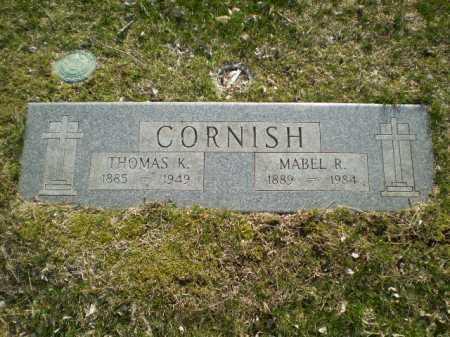 CORNISH, THOMAS K. - Douglas County, Nebraska | THOMAS K. CORNISH - Nebraska Gravestone Photos