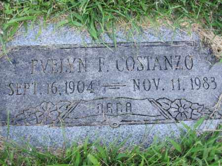 COSTANZO, EVELYN F. - Douglas County, Nebraska | EVELYN F. COSTANZO - Nebraska Gravestone Photos